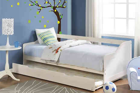 Mattress Shed - Single Oregon day bed with pull out bed - Save 65%