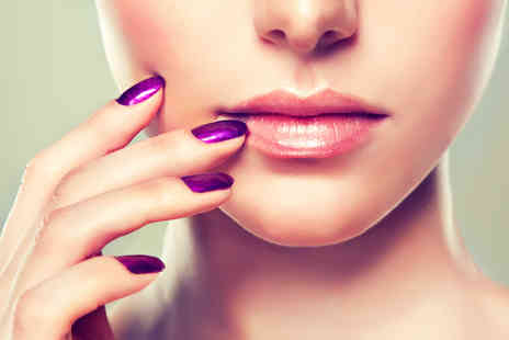 Superficial Paradise -  Shellac manicure or pedicure plus a glass of Prosecco or a Bellini cocktail   - Save 60%