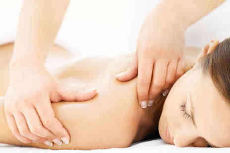 The Beauty Base - Back, Neck, and Shoulder Massage or Manicure or Pedicure and Microzone Facial - Save 50%