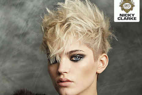 Nicky Clarke - Haircut and Blow Dry with Conditioning Treatment - Save 62%