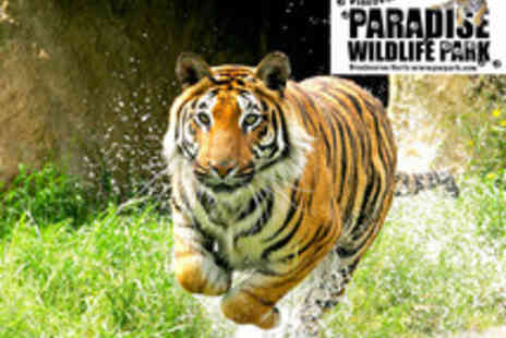 Paradise Wildlife Park - Fast Track Easter Entry to Paradise Wildlife Park - Save 2%
