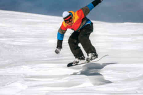 SNOzone - Adult Beginner Ski or Snowboard Day Course - Save 49%