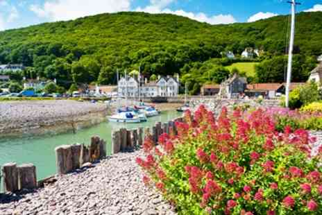 The Cafe Porlock Weir  -  Top Rated Meal for 2 in Perfect Somerset Setting - Save 56%