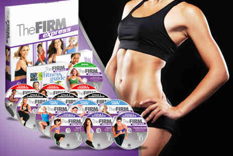 Home Shopping Mall - Firm Express Home Fitness Programme DVD set - Save 75%
