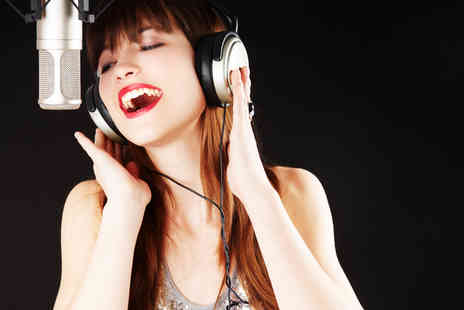 Songmaker -  X Factor themed pop taster experience and release a song onto the digital download chart - Save 51%