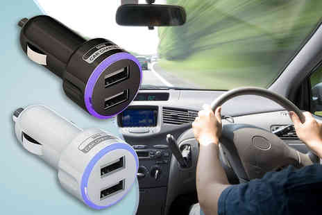Click Wrap - Dual USB in car charger - Save 80%