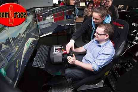 Room2Race - 60 Minute Triple Screen Racing Simulator  - Save 30%