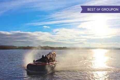 North West Hovercrafts - Hovercraft River Cruise For Two  - Save 50%