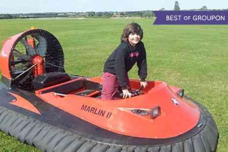 Experience Limits - Five Laps Hovercraft Driving - Save 0%