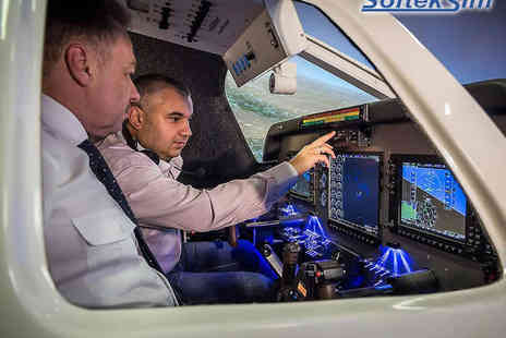 SoftekSim - 30 Minute Flight Simulator Experience - Save 51%