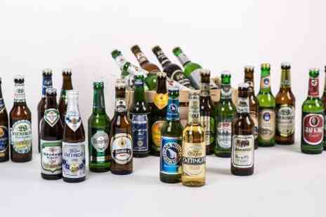 Sim Buy - Case of 15 Wheat, Pilsner or Mixed German Beers With Free Delivery - Save 0%