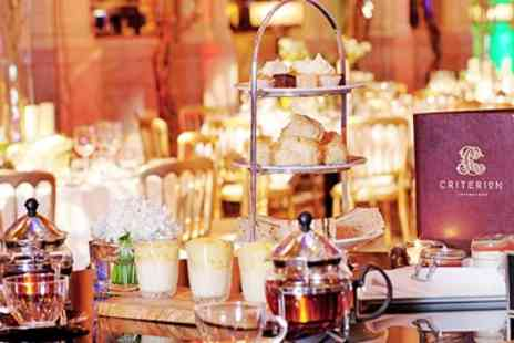The Criterion Restaurant - Spectacular Champagne Afternoon Tea - Save 0%