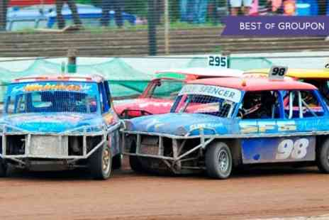 Startrax - Entry to Startrax Stock Car Racing  For Two Adults - Save 50%