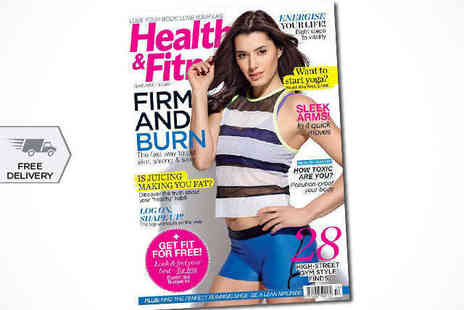Womens Fitness - 12 Month Health & Fitness Subscription, Delivery Included - Save 56%