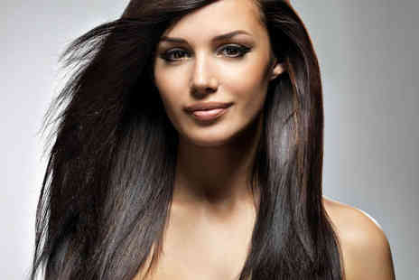 Kutz n Beauty - Haircut, Blow Dry, and Conditioning Treatment with Full Head of Colour  or Half Head of Highlights  - Save 56%