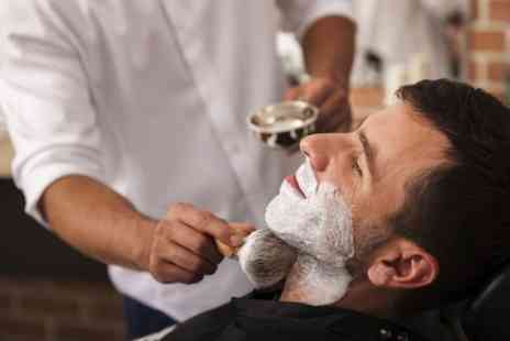 Hair 1 One - Men's Wash and Restyle Plus Traditional Wet Shave - Save 55%