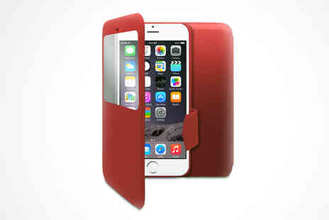 zing cases - Booklet Flip Case for iPhone 6 - Save 46%