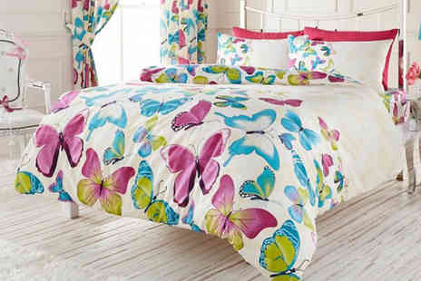 your essential store - Butterfly Bedding Set - Save 75%