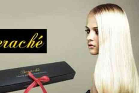 Serache - Set of 18� Clip in Remy Hair extensions plus 3 individual coloured hair extensions - Save 64%