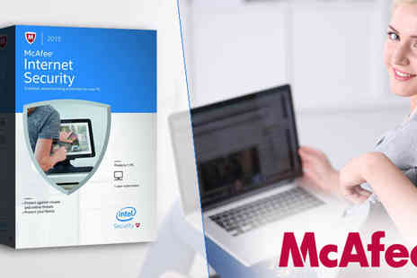 Software Link - McAfee Internet Security Suite 2015 - Save 77%