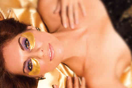 Look Good Feel Fabulous - 50 Gold Collagen Eye Masks - Save 93%
