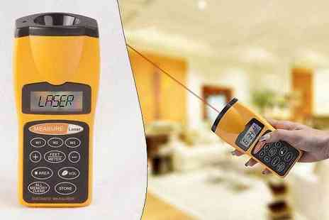 Shopperheads - Laser Distance Measuring Tool - Save 77%
