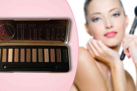 Pink Style - W7 12 Colour Eyeshadow Palette - Save 75%
