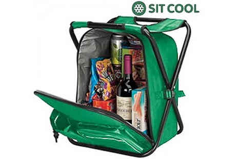 Jazzydeals -  3 in 1 Cool Bag, Rucksack & Chair - Save 50%