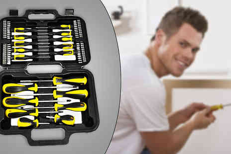 Your Essential Stor- 58 Piece Screwdriver Tool Kit - Save 75%