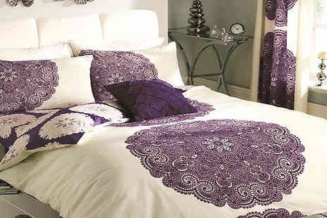 your essential store - Printed Duvet Set - Save 75%