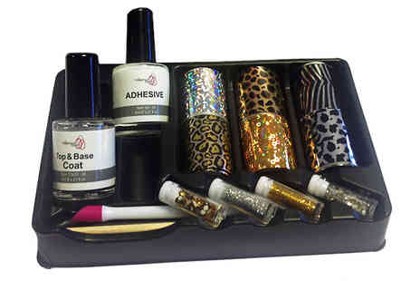Assist World - Nail Art Foil Kit - Save 83%