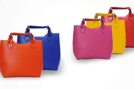 Wholesale Solutions - Faux Leather Tote Bag - Save 40%