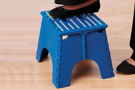 Home Shopping Selections - Sturdy Folding Step Stool - Save 55%