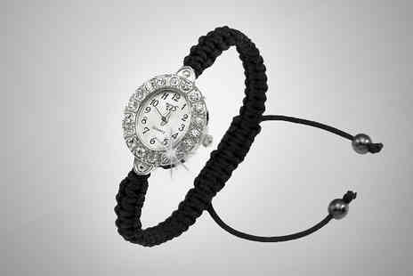 Avatora international - Black Vintage Style Watch - Save 92%
