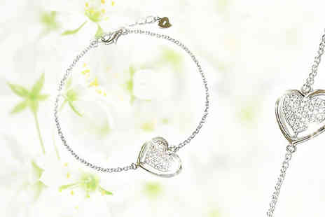 Avatora international - Double Heart Bracelet - Save 87%