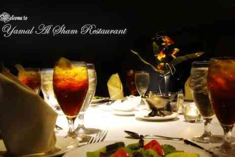 Yamal Alsham Chelsea - 10 course Middle Eastern meal for 2  - Save 0%