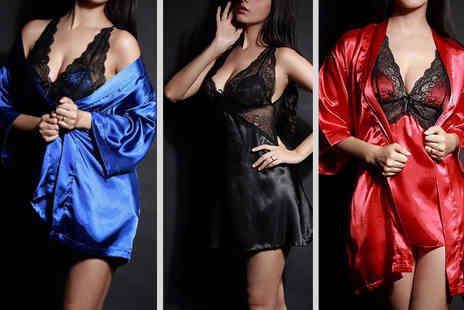 Risque Intentions - Choice of saucy nightwear - Save 77%