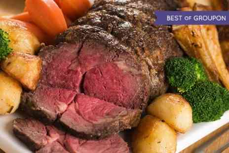 Beach View Restaurant - Two Course Sunday Roast For Two  - Save 62%