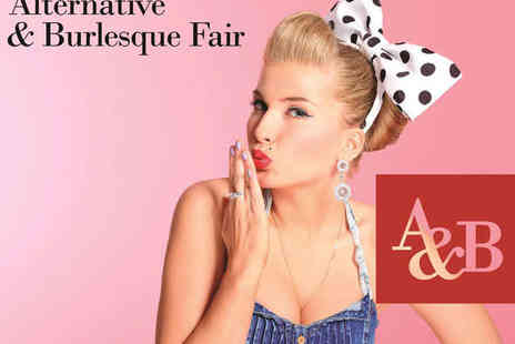 The Alternative  - Two Tickets to The Alternative & Burlesque Fair - Save 30%
