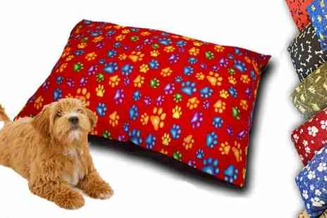 Irof Designs - Large Dog Bed Cushion - Save 67%