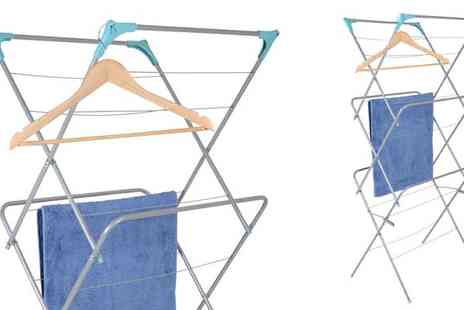 xsstock online - Three Tier Laundry Airer - Save 25%