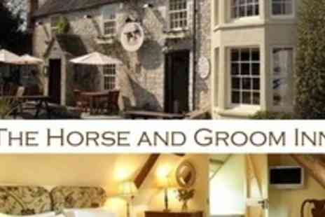 Horse and Groom Inn - Overnight Midweek Stay For Two With Breakfast - Save 65%