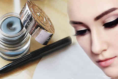 bag a bargain - Waterproof Black Gel Eye Liner - Save 77%