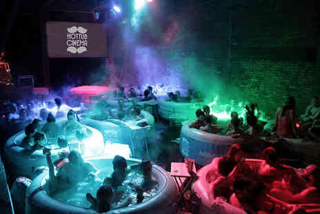 Hot Tub Cinema - Two tickets to Hot Tub Cinema  - Save 31%