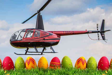 Flying Pig Helicopters -  30 minute Easter helicopter flying experience including a certificate   - Save 40%