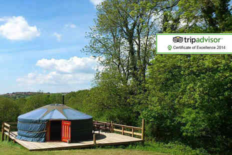 Cwm Tawel Yurts - Four night  midweek yurt stay for up to Five  - Save 59%