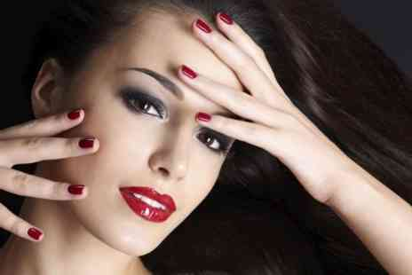 Elegance Beauty Salon - Blow Dry and Condition  Shellac Colour Manicure  - Save 50%