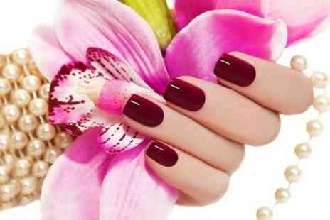 Scissor Sisters Hair and Beauty - Gellux Manicure or Pedicure  - Save 66%