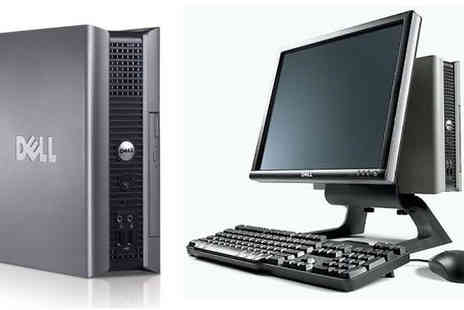 JMN Business Solutions - Dell Desktop PC including Mouse, Keyboard & Monitor - Save 43%