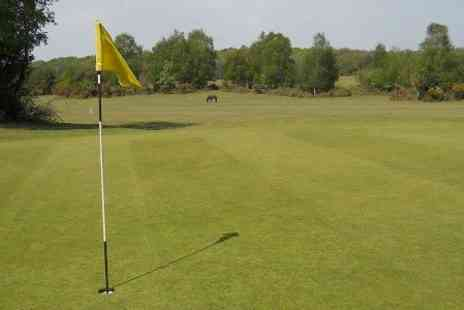 New Forest Golf Club - 18 Holes of Golf For Two - Save 59%